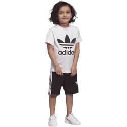 Υφασμάτινα Παιδί Κοστούμια και γραβάτες  adidas Originals DW9709 λευκό