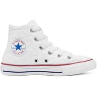 Παπούτσια Παιδί Ψηλά Sneakers Converse 671097C λευκό