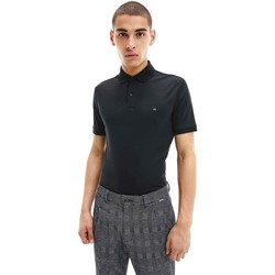 Υφασμάτινα Άνδρας Πόλο με κοντά μανίκια  Calvin Klein Jeans K10K107090 Μαύρος
