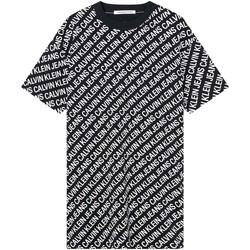 Υφασμάτινα Γυναίκα Φορέματα Calvin Klein Jeans J20J215678 Μαύρος