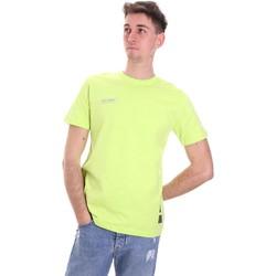 Υφασμάτινα Άνδρας T-shirt με κοντά μανίκια Disclaimer 21EDS50517 Πράσινος