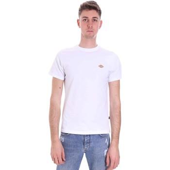 Υφασμάτινα Άνδρας T-shirt με κοντά μανίκια Dickies DK0A4XDAWHX1 λευκό