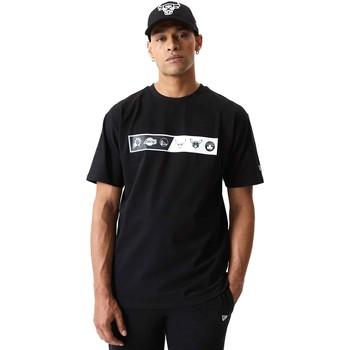 Υφασμάτινα Άνδρας T-shirt με κοντά μανίκια New-Era 12553333 Μαύρος
