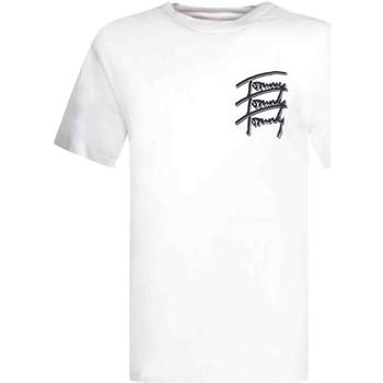 Υφασμάτινα Άνδρας T-shirt με κοντά μανίκια Tommy Jeans DM0DM10228 λευκό