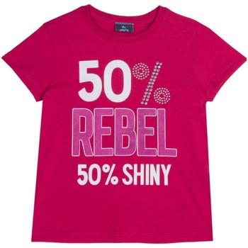 Υφασμάτινα Παιδί T-shirt με κοντά μανίκια Chicco 09067157000000 Ροζ