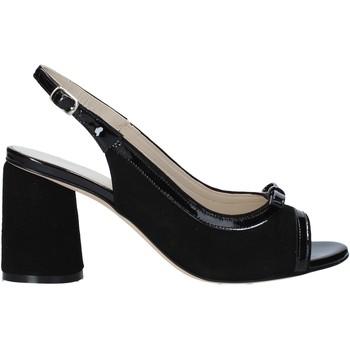 Παπούτσια Γυναίκα Σανδάλια / Πέδιλα Melluso HS548 Μαύρος
