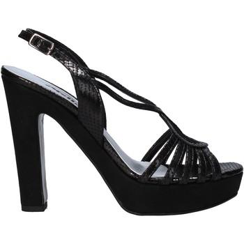 Παπούτσια Γυναίκα Σανδάλια / Πέδιλα Melluso HJ484 Μαύρος