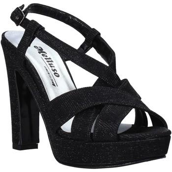 Παπούτσια Γυναίκα Σανδάλια / Πέδιλα Melluso HJ440 Μαύρος