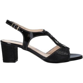 Παπούτσια Γυναίκα Σανδάλια / Πέδιλα Melluso HK95360 Μαύρος
