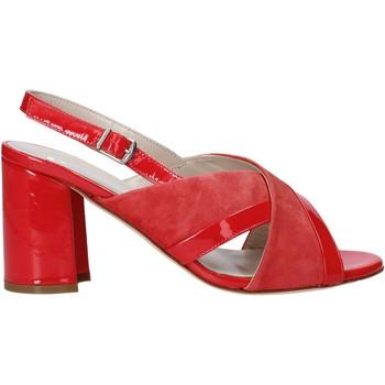 Παπούτσια Γυναίκα Σανδάλια / Πέδιλα Melluso HS530 το κόκκινο