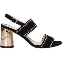 Παπούτσια Γυναίκα Σανδάλια / Πέδιλα Melluso HS553 Μαύρος