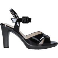 Παπούτσια Γυναίκα Σανδάλια / Πέδιλα Melluso HR50137 Μαύρος