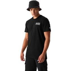 Υφασμάτινα Άνδρας T-shirts & Μπλούζες New-Era 12590875 Μαύρος