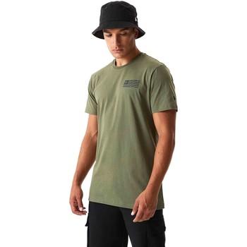 Υφασμάτινα Άνδρας T-shirts & Μπλούζες New-Era 12590874 Πράσινος