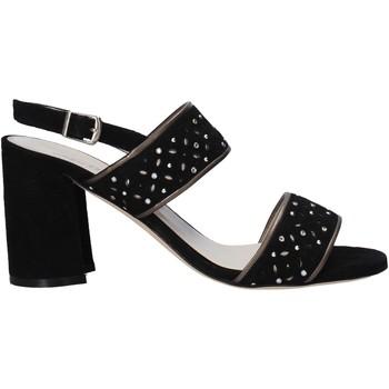 Παπούτσια Γυναίκα Σανδάλια / Πέδιλα Melluso HS533 Μαύρος