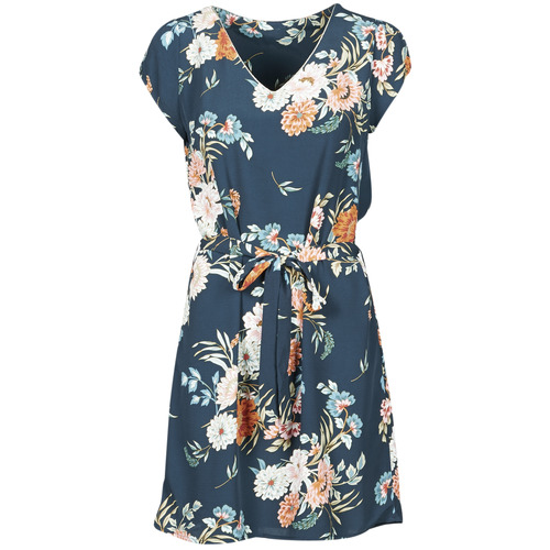Υφασμάτινα Γυναίκα Κοντά Φορέματα Betty London OWAKA Marine / Multicolour