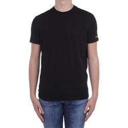 Υφασμάτινα Άνδρας T-shirt με κοντά μανίκια Dsquared2 Underwear D9M203540 Black