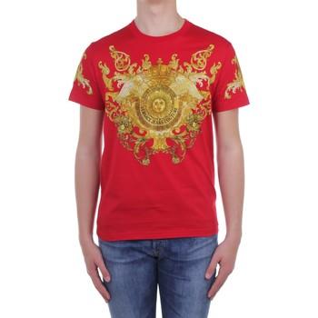 Υφασμάτινα Άνδρας T-shirt με κοντά μανίκια Versace Jeans Couture B3 GWA7S1S0274 Red