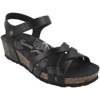 Παπούτσια Γυναίκα Σανδάλια / Πέδιλα Panama Jack  Negro