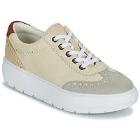 Παπούτσια Γυναίκα Χαμηλά Sneakers Geox KAULA Grey