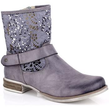 Παπούτσια Γυναίκα Μπότες Kimberfeel ANAELLE Gris