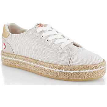 Παπούτσια Γυναίκα Χαμηλά Sneakers Kimberfeel CAMILIA Beige