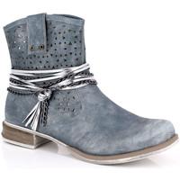Παπούτσια Γυναίκα Μποτίνια Kimberfeel MARGOT Bleu