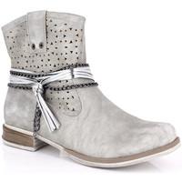 Παπούτσια Γυναίκα Μποτίνια Kimberfeel MARGOT Gris