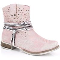 Παπούτσια Γυναίκα Μποτίνια Kimberfeel MARGOT Rose