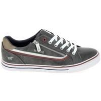 Παπούτσια Χαμηλά Sneakers Mustang Sneaker 4147301 Gris fonce Grey