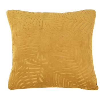 Σπίτι Μαξιλάρια Present Time PALM LEAVES Caramel