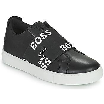 Παπούτσια Χαμηλά Sneakers BOSS KAMILA Black / Άσπρο