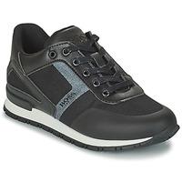 Παπούτσια Αγόρι Χαμηλά Sneakers BOSS FILEMONA Black