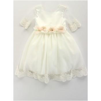 Υφασμάτινα Κορίτσι Κοντά Φορέματα Bella Brilli BB402157 Avorio