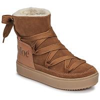 Παπούτσια Γυναίκα Snow boots See by Chloé CHARLEE Camel