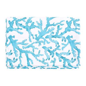 Σπίτι Τραπεζομάντιλο Côté Table ESTRAN Turquoise