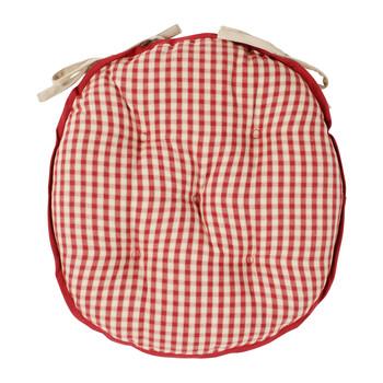 Σπίτι Μαξιλάρι καρέκλας Comptoir de famille MAMI Red