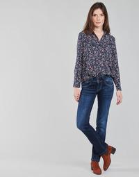 Υφασμάτινα Γυναίκα Τζιν σε ίσια γραμμή Pepe jeans NEW GEN Μπλέ / Brut / Dh3