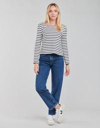 Υφασμάτινα Γυναίκα Τζιν σε ίσια γραμμή Pepe jeans DOVER Μπλέ / Medium