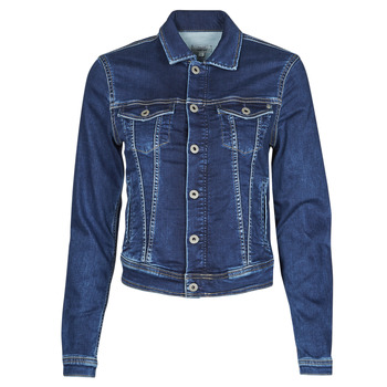 Υφασμάτινα Γυναίκα Τζιν Μπουφάν/Jacket  Pepe jeans CORE JACKET Μπλέ