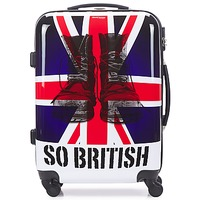 Τσάντες Valise Rigide David Jones UNION JACK 53L Multicolore