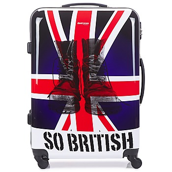 Τσάντες Valise Rigide David Jones UNION JACK 83L Multicolore