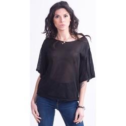 Υφασμάτινα Γυναίκα Μπλούζες Vicolo Trivelli 9152 Μαύρος
