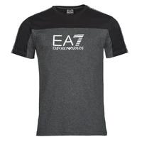 Υφασμάτινα Άνδρας T-shirt με κοντά μανίκια Emporio Armani EA7 TRAIN ATHLETIC Black