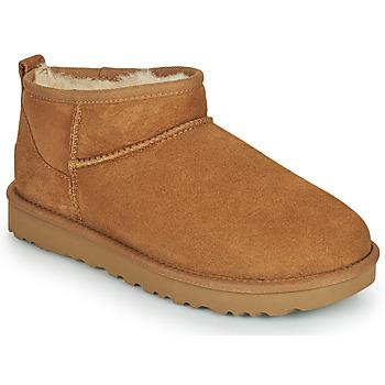 Παπούτσια Γυναίκα Μπότες UGG Classic Ultra Mini Camel