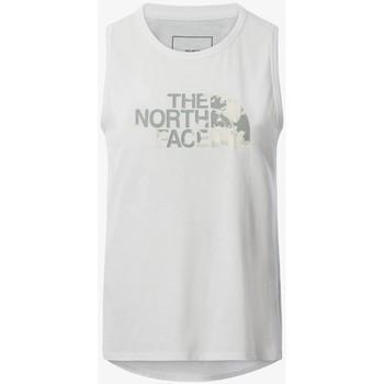 Υφασμάτινα Γυναίκα Αμάνικα / T-shirts χωρίς μανίκια The North Face CAMISETA SIN MANGAS MUJER  NF0A55B1 Άσπρο