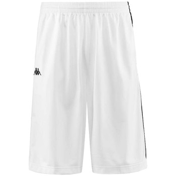 Υφασμάτινα Άνδρας Σόρτς / Βερμούδες Kappa Banda Treadwell Shorts Blanc