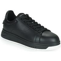 Παπούτσια Άνδρας Χαμηλά Sneakers Emporio Armani ANITY Black