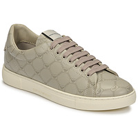 Παπούτσια Γυναίκα Χαμηλά Sneakers Emporio Armani DANSSE Beige / Άσπρο