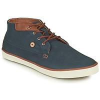 Παπούτσια Άνδρας Ψηλά Sneakers Faguo WATTLE Marine / Brown